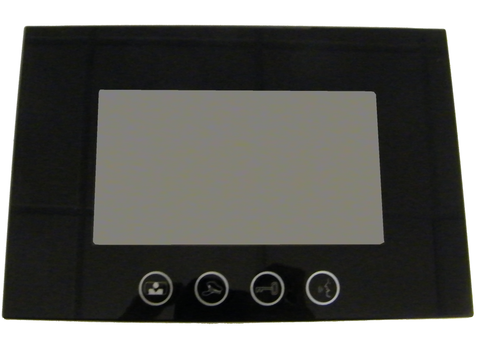 Monitor Station for ECVI-700K-2W 2-Wire Color Video Entry Intercom ECVI-700M-2W-Intercom Systems-Various-Black-Jayso Electronics