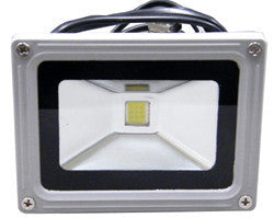 Outdoor LED Floodlight, 10 Watt, Sealed, Weatherproof, EC-WPLED-10-LED Lighting-EC-Jayso Electronics