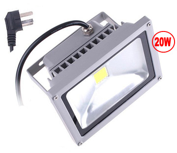Outdoor LED Floodlight, 20 Watt, Sealed, Weatherproof, EC-WPLED-20-LED Lighting-EC-Jayso Electronics