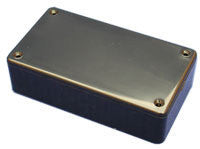 "Plastic Project Box 3.34"" x 2.20"" x 1.38"" With Blank Screw-On Cover 1591LS-Tools-Hammond-Default-Jayso Electronics"