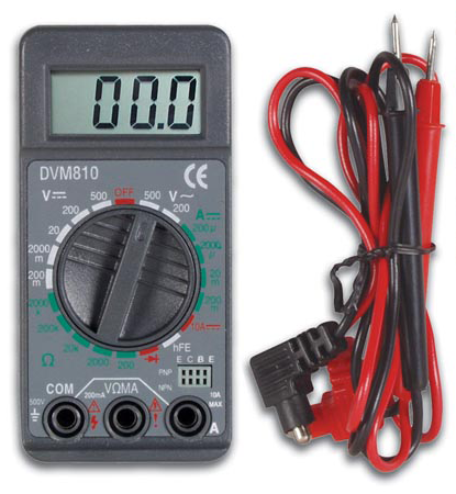Pocket Digital Multi-Meter JVM-810-Tools-Various-Jayso Electronics
