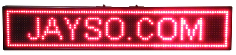 Programmable LED Sign, Red Multi-Effect EC-LED-MDS-R-LED Lighting-EC-Jayso Electronics