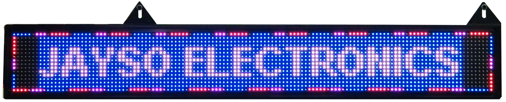 Programmable LED Sign, RGB Multi-Effect EC-LED-MDS-RGB-LED Lighting-EC-Jayso Electronics