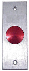 Push To Exit Switch, Blank, Heavy Duty, Mullion Mount, EC-PB20SB-Access Controls-EC-Jayso Electronics