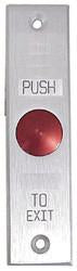 Push To Exit Switch, Heavy Duty, Mullion Mount, Long, ECPB20L-Access Controls-EC-Jayso Electronics