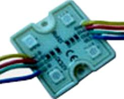 Quad Pixel RGB LED Light Module, 12 Volt, Pack of 20 JE-MLED-4L-RGB