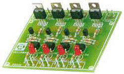 Quad Triac Switch Card Kit K2634-Hobby Kits-Velleman-Default-Jayso Electronics