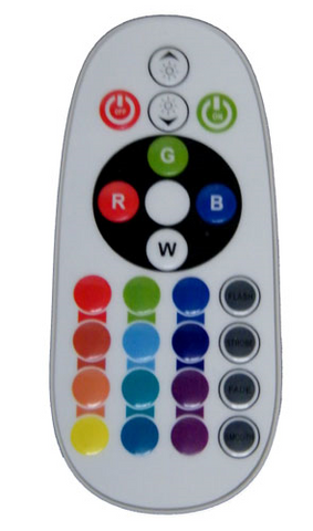 "RF Remote Control for 110 VAC ""Neon"" RGB LED Light Strip Kits EC-NLED-RGB-110V-RF-LED Lighting-EC-Jayso Electronics"