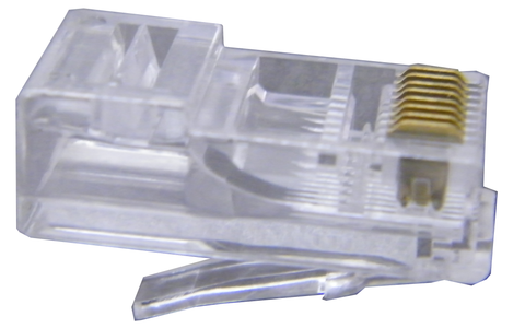 RJ-45 (8PC8) Modular Telephone Connectors Pack of 100 JT4-1948T/100-Tools-Various-Jayso Electronics