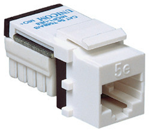 RJ-45 Keystone Jack Insert Module, Snap-In, Cat5e KJ45-xx-Network & Computing-Various-Jayso Electronics