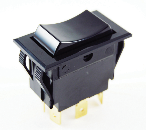 Rocker Switch Snap In Dpdt On Off With Push On