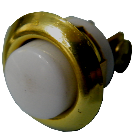 "Round Flush Lighted 5/8"" Doorbell Pushbutton BC205LB-Access Systems-Various-Jayso Electronics"