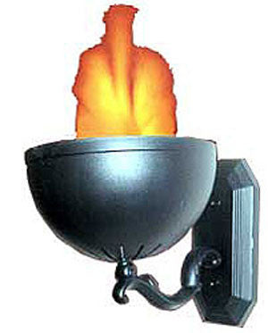 Safe Fire Effect Mini Flame Wall Mount Sconce V-0107C-DJ & Party Equipment-Various-Jayso Electronics