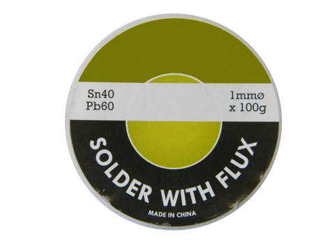 Solder, 60/40, 100 Gram Roll JS-6040-100G-Tools-Jayso-Jayso Electronics