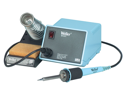 Soldering Station, Temperature Controlled, 60 Watts, 120v, Weller WTCPT-Tools-Weller-Jayso Electronics