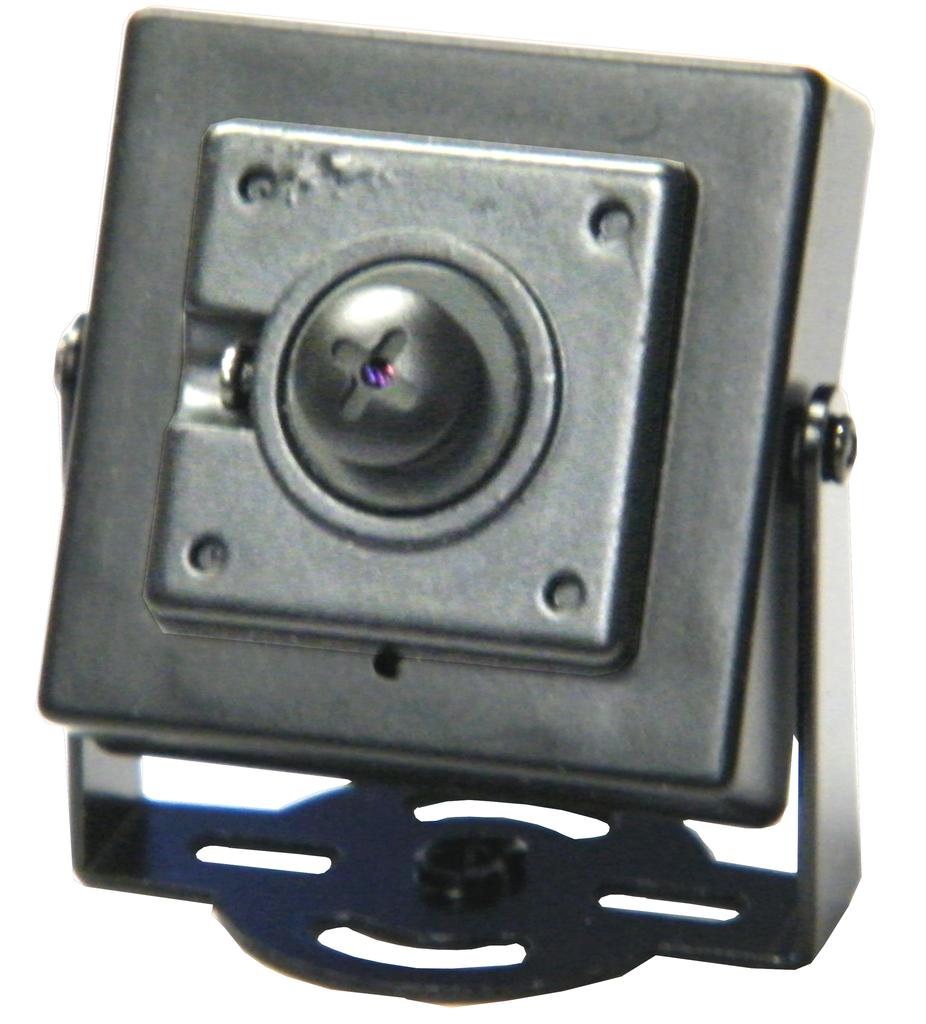 "Super-Mini Color Camera With 1/4"" CCD, Screw Head Pinhole Lens, & Bracket EC-594SC-Security Cameras & Recorders-EC-Jayso Electronics"