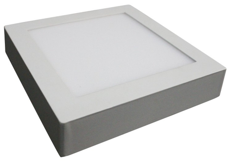 Surface Mount 18 W LED Downlight, 6000° K, Square, Slimline EC-LED-SDL18SQ-6000-LED Lighting-EC-Jayso Electronics
