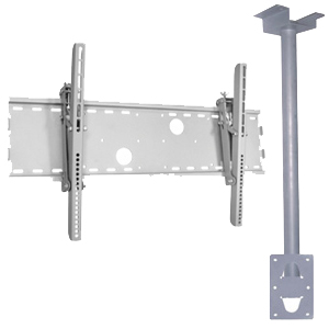 TV/Monitor Ceiling Mount Kit, Large, Plasma, LCD, LED/LCD, JCB14-01K-Home Theater & Audio-Various-Jayso Electronics