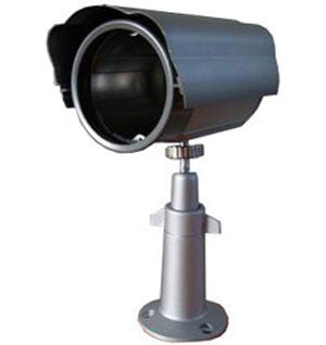 Ultra Low Light Color Camera In Weatherproof Outdoor Housing EC-CLUBCAM2-Security Cameras & Recorders-EC-Jayso Electronics