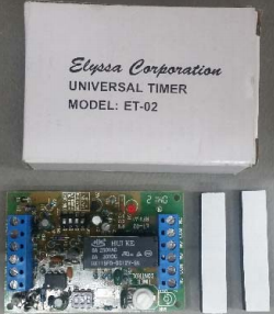 Universal Timer ET-02-Timers & Relays-EC-Jayso Electronics