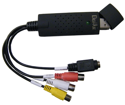 USB Audio/Video Capture System EDV-AVSTK-Security Cameras & Recorders-EC-Jayso Electronics
