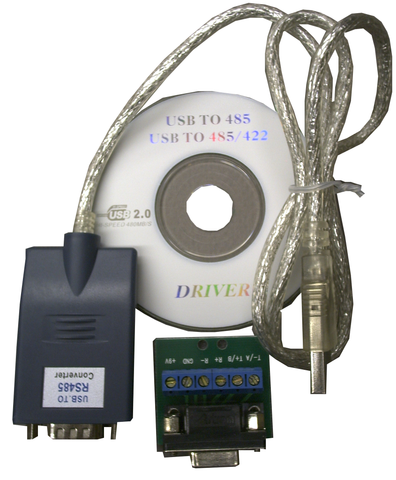 USB to RS485 Port Adapter for PTZ Control Etc. EDV-USB-485-Computers & Accessories-EC-Jayso Electronics