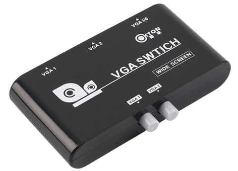 VGA 2 Port Switch JVGA-SW2-Computers & Accessories-Various-Jayso Electronics