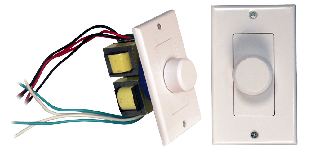 Wall Mount Volume Control, Single Knob, Rotary, PVC1-Home Theater & Audio-Pyle-Jayso Electronics