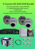 Watchman™ 4-Camera 1080p Indoor/Outdoor Hybrid (AHD/TVI/CVBS) DVR Kit-DVR Kit-Jayso Electronics-Jayso Electronics