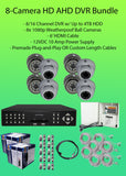 Watchman™ 8-Camera 1080p Indoor/Outdoor Hybrid (AHD/TVI/CVBS) DVR Kit-DVR Kit-Jayso Electronics-Jayso Electronics
