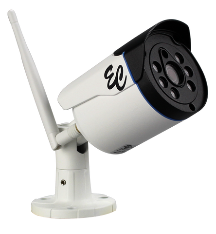 WiFi Network Camera 960P Indoor/Outdoor EC-WNBC-1-Security Cameras & Recorders-Jayso Electronics-Jayso Electronics