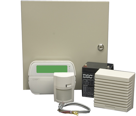 Wireless Ready Alarm System Kit, 16-Zone, DSC, KIT16-120CP01-Alarm Systems-DSC-Jayso Electronics