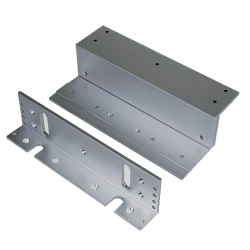 Z-Bracket for Installing EC-MAG600 on Inswinging Doors EC-ZB-600-Access Controls-Various-Jayso Electronics