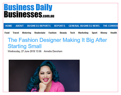 Business Daily - The Fashion Designer Making It Big After Starting Small