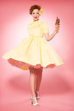 PRE-ORDER Maria dress in yellow