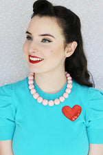Peggy Necklace - Baby Pink