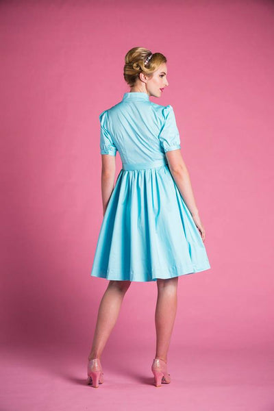 PRE-ORDER Maria dress in Blue