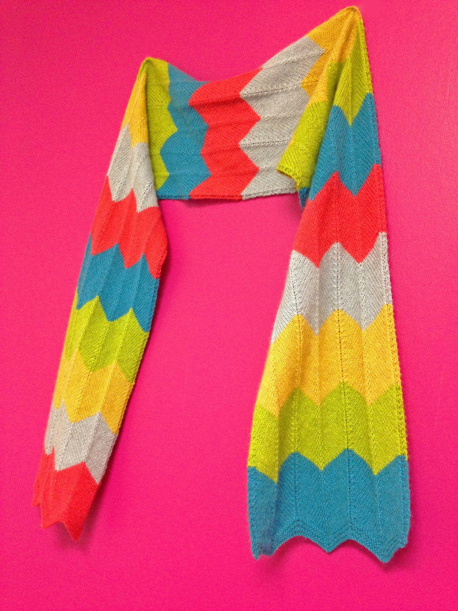 Free pattern: The Jackson Scarf