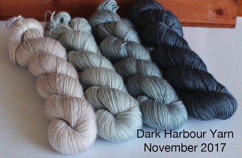 Dark Harbour Yarn November 2017 Indie dyer