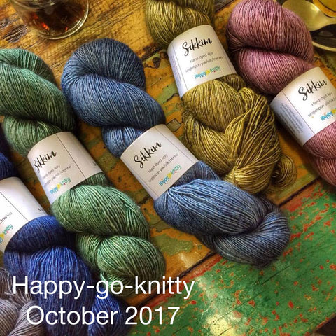happy-go-knitty October 2017 Indie dyer