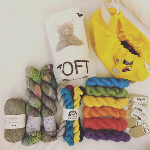 Tash's Edinburgh Yarn Fest haul