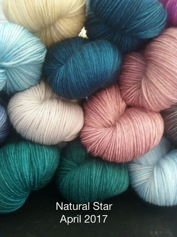 Natural Star - April 2017 Indie dyer