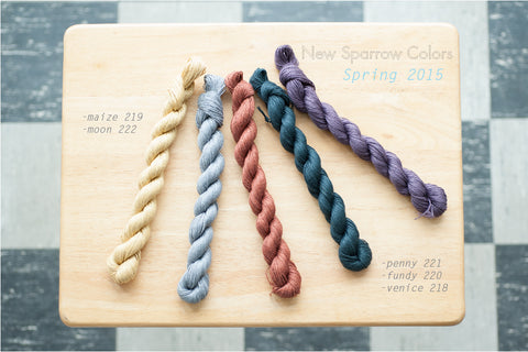 New Quince & Co Sparrow colours