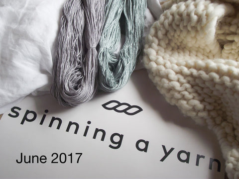 Spinning a yarn June 2017 Indie dyer