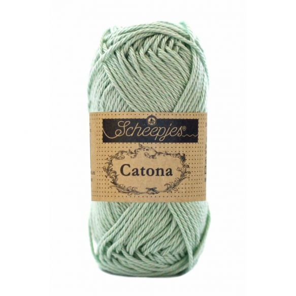 Scheepjes Catona Cotton - 402 Silver Green