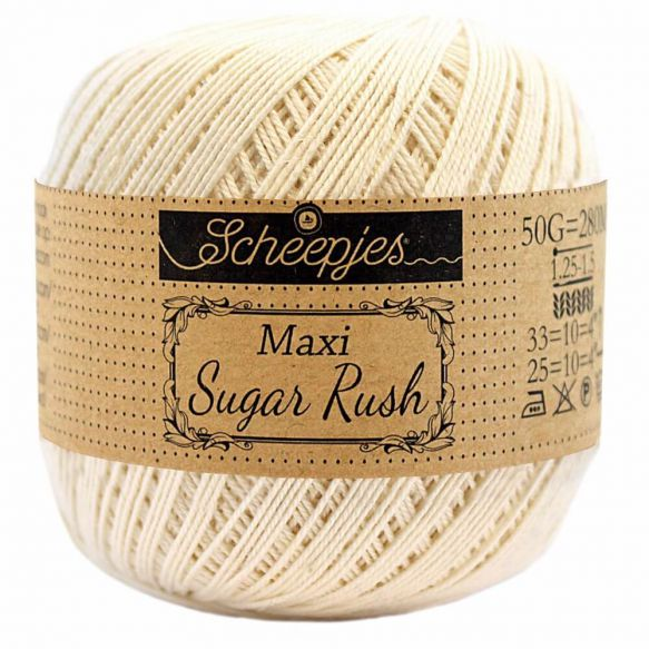 Scheepjes Maxi Sugar Rush - 130 Old Lace