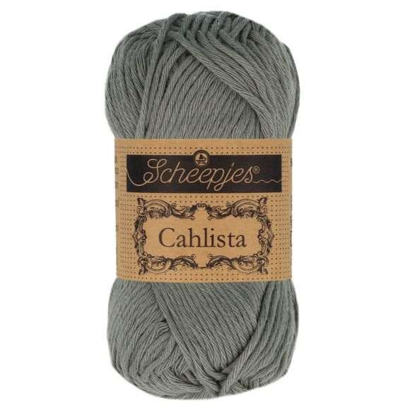 Scheepjes Cahlista Cotton - 243 Metal Grey