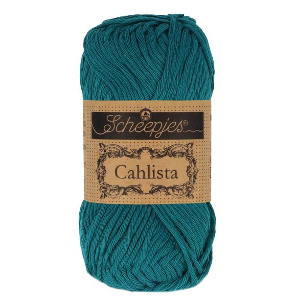 Scheepjes Cahlista Cotton - 401 Dark Teal