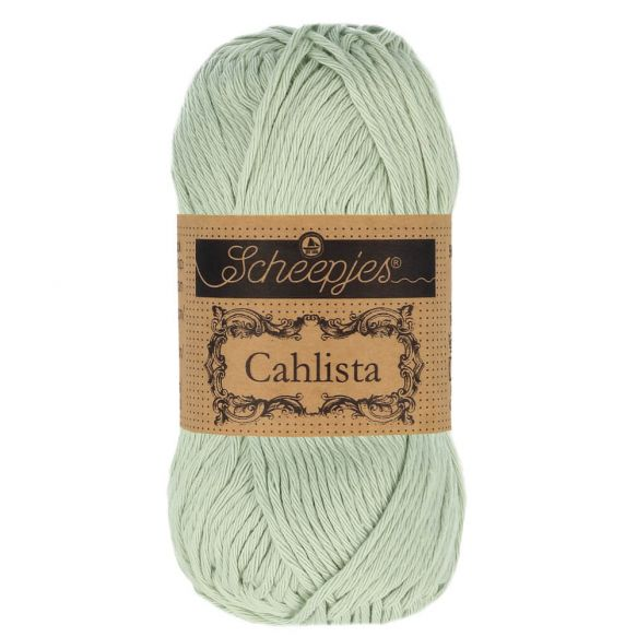 Scheepjes Cahlista Cotton - 402 Silver Green