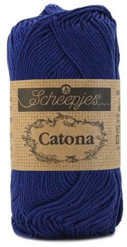 Scheepjes Catona Cotton -527 Midnight